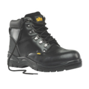 Site Stone Safety Boots Black Size 8