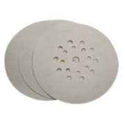 TecMix Punched Sanding Discs D-Weight 225mm 80 Grit Pack of 25