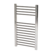 Flomasta Flat Ladder Towel Radiator Chrome 700 x 400mm 176W 601Btu