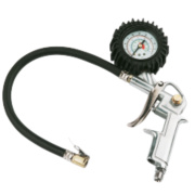 Air Tyre Inflator with ¼