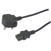UK Plug to IEC Cable 10m