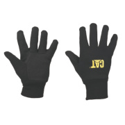 CAT Jersey Gloves with Microdot Palms Black Large
