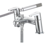 Bristan Orta Dual Lever Bath/Shower Mixer Tap