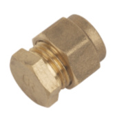 Conex Compression Stop End DZR 8mm