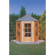 Gazebo Summerhouse Assembly Included 2.1 x 1.8 x 2.4m