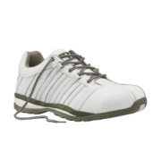 Worksite Industrial Wear Safety Trainers White Size 12