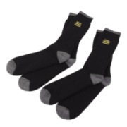 DeWalt Socks 2 Pairs Black Size 6-12 Size 6-12