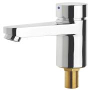 Franke Aqualine-C Self-Closing Cold Water Bathroom Basin Pillar Tap