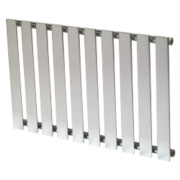 Reina Pienza Horizontal Designer Radiator Chrome 550 x 825mm 1604BTU