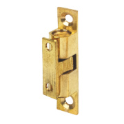 Double Ball Cabinet Catches Brass 42mm Pack of 10