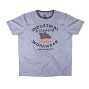 Hyena Tor T-Shirt Grey Marl Medium 43-44