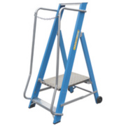 Lyte Widestep Platform Step Ladder Fibreglass 2 Treads 1.41m