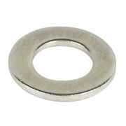 Flat Washers A2 M5 Pack of 100