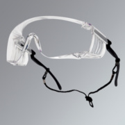 Bolle Squale Clear Lens Safety Specs