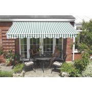 Greenhurst Green / White 3.5 x 2.5m