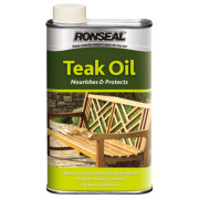 Ronseal Teak Oil Clear 1Ltr