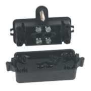 IP68 2-Pole In-Line Gel Filled Cable Connector