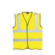 Hi-Vis Waistcoat Yellow XX Large 50-52