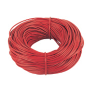 PVC Sleeving 3mm x 100m Red