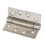Eclipse Adjustable Self-Closing Hinge Polished Stainless Steel 76 x 102mm
