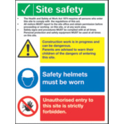 SITE SAFETY SIGN EACH
