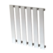 Reina Pienza Horizontal Designer Radiator Chrome 550 x 485mm 962BTU