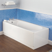 Bath End Panel Acrylic 700mm White