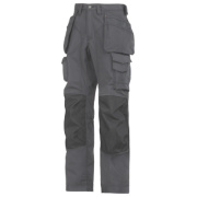 Snickers Rip-Stop Pro-Kevlar Floorlayer Trousers Grey/Black 33