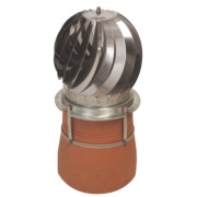 Revolving Chimney Cowl Stainless Steel 300 x 320mm