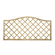 Forest Hamburg Open-Lattice Fence Panels 1.8 x 0.9m Pack of 10