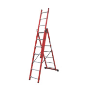 Lyte SFRC7 Fibreglass 3-Way Combination Ladder 3 x 7 Rungs 4.2m