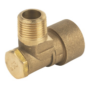 Angled Bayonet Socket Gas Fitting ½