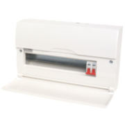 14-Way Metal Consumer Unit & 100A Switch