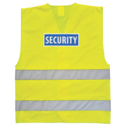 Hi-Vis Security Waistcoat Yellow XX Lge / XXX Lge 50-55