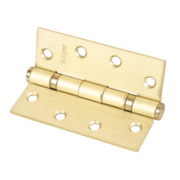 Eclipse Ball Bearing Hinges Electro Brass 102 x 76mm Pk3