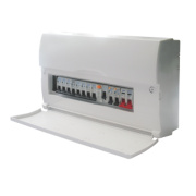 BG 10-Way Fully Insulated Main Switch Consumer Unit
