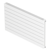 Barlo Single Panel Horizontal Designer Radiator White 578 x 1000mm 3038BTU