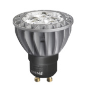 Sylvania GU10 ES50 Hi-Spot Reflector LED Mains Volt. Lamp 350Lm 600Cd 5.5W