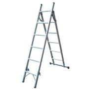 Lyte SFL3W Aluminium 2-Section Combination Ladder 6 + 5 Rungs 2.59m