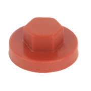 Rawlplug Protective Caps Brown M8 Pack of 100