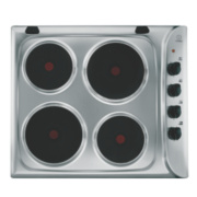 Indesit PIM 604 IX Electric Hob Stainless Steel 510 x 580mm
