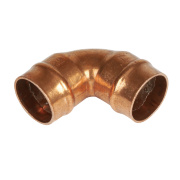 Yorkshire Solder Ring Elbow YPS12 22mm Pack of 5