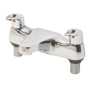 Swirl Loop Dual Lever Bath Filler Bathroom Taps