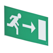 LAP Emergency Exit Right Front Plate