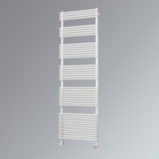 Ximax Calido Vertical Designer Towel Radiator White 1460 x 600mm 3105BTU