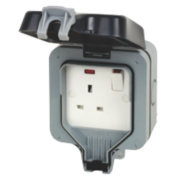 BG Nexus 13A 1G Switch Socket