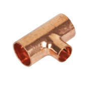 Yorkshire Endex Reduced Tee N25 15 x 15 x 10mm Pack of 5