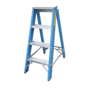 Lyte SFGSL4 Swingback Step Ladder Aluminium & Fibreglass 4-Tread 0.99m