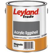 Leyland Trade Acrylic Eggshell Emulsion Paint Magnolia 2.5Ltr