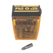 DeWalt Phillips Tic Tac Box Screwdriver Bits PH#2 x 25mm 25 Piece Set